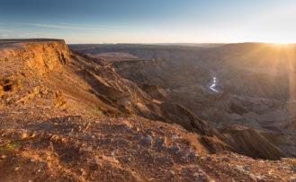 Fischfluss Canyon Namibia