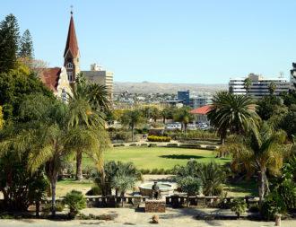 Namibia Rundreise Stadtzentrum im Windhoek