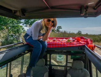 Frühstück im Busch während einer Kenia Safari Reise