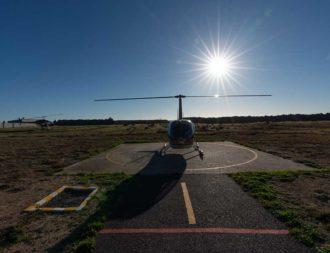 Helikopter in Kapstadt ein tolles Erlebnis auf einer Südafrika Safari Rundreise