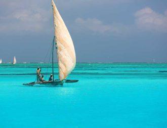 Badeaufenthalt im Mnemba Atoll auf einer Tansania Safari Rundreise