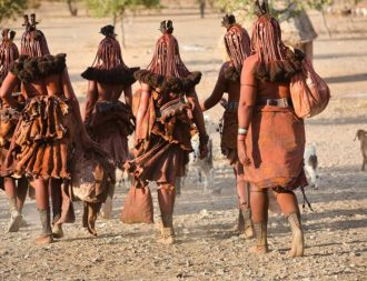 Zwischenstopp im Kaokoveld während einer Namibia Safari Reise