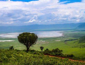 Landschaften im Ngorongoro Krater auf Tansania Safari Reisen